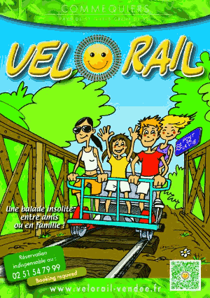 flyer velorail commequiers